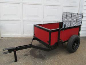 Custom Built Garden Tractor Utility Trailer / Oshawa / $300.oo