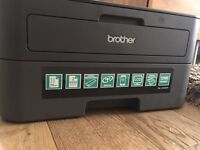 BROTHER HL2340DW duplex Wireless Laser Printer with BRAND NEW £50 toner cartridge