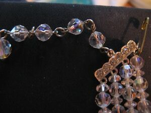 Sherman Crystal earring necklace ensemble West Island Greater Montréal image 3