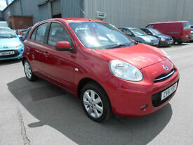 Nissan Micra 1.2 12v ( 79bhp ) ( 2011 ) Acenta sat nav