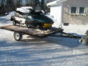 SKIDOO AND TRAILER  PACKAGE