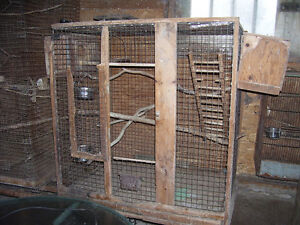 2 breeding cages for lovebirds, cockatiels etc FREE