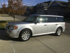 2010 Silver Ford Flex SEL, AWD