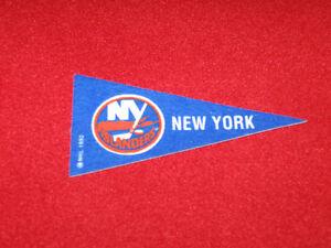 NHL Hockey Mini Pennants New York Islanders