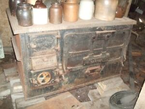beautiful old cast stove