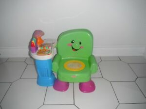 Fisher Price sound and story learning chair