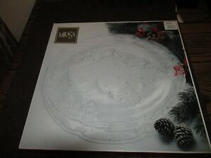 Mikasa Christmas platter Kitchener / Waterloo Kitchener Area image 1
