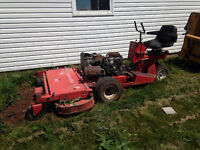 gravely comercial mower