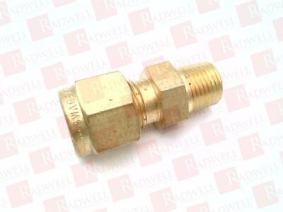 "Brass Reducing Union Swagelok B-400-6-2 x 1//8/"" Tube OD 1//4 in"