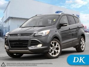 2015 Ford Escape Titanium AWD w/Leather, Moonroof, and Nav!