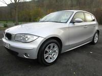 06/56 BMW 118D 2.0D SE 5DR HATCH IN MET SILVER WITH SERVICE HISTORY