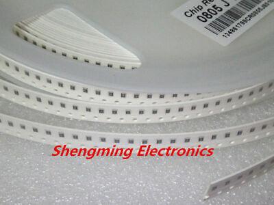 100pcs 0805 Smd Resistor 0 Ohm 10m 1k 4.7k 4k7 10k 100k 1 10 100 220 330 Ohm