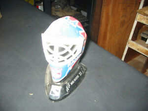 Rare New York Rangers goalie mask Repro