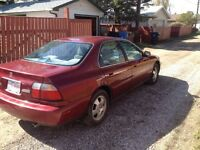 1997 Honda Accord 2,800$ OBO!! NO REASONABLE OFFER REFUSED!!