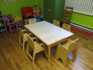 Meuble de garderie superbe qualite / Daycare furniture