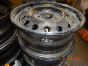 """15 """" ford steel rim's with TPMS"""