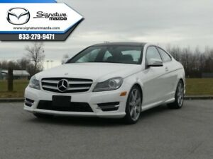 2013 Mercedes Benz C-Class 4MATIC Coupe  - Premium Package