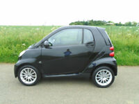 SMART FORTWO 1.0 PASSION AUTOMATIC 2DR BLACK - LOW MILEAGE - £30 ROAD TAX