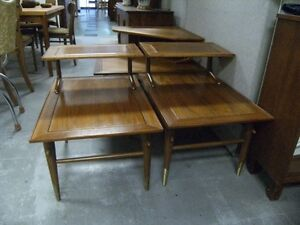 WALNUT COFFEE TABLE & END TABLE SET BY LANE Peterborough Peterborough Area image 2