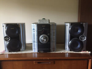 SONY PORTABLE STEREO SYSTEM