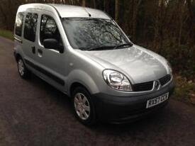 RENAULT KANGOO 1.2 16v 75 AUTHENTIQUE * WHEEL CHAIR ACCESS* LOW MILEAGE*