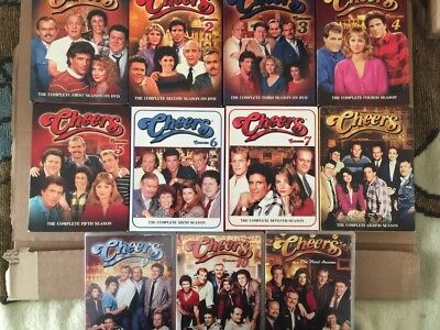 Cheers   The Complete Series  Dvd Collection 1 11