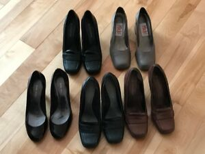 Used size 5M shoes size 5 - five pair