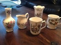 Five bone china collectable's mixed lot