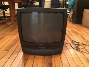 SAMSUNG CXJ1952 CRT TELEVISION WITH BUILT-IN VCR