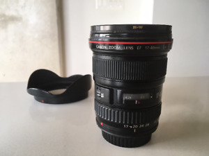 CANON EF 17-40mm f4L USM - B+W polarizer + variable ND filter