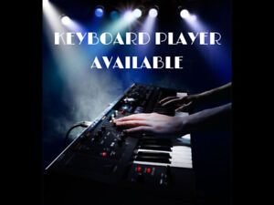 Keyboards with backing Vocals Available