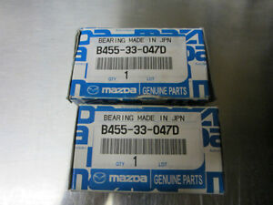 Mazda wheel bearings