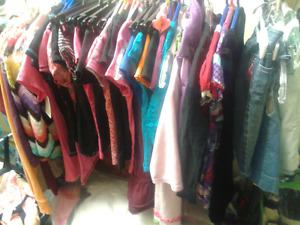 1/2 price kids clothes sale Sat March 25