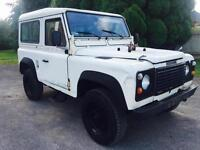 1989 Land Rover 90 Left Hand Drive LHD Air Con 130kms, Export
