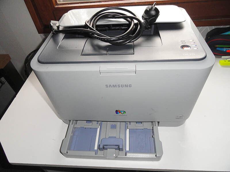 Imprimante samsung laser couleur clp 310 pour pièces ou réparation