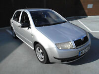 (02) 2002 Skoda Fabia 1.4 Ltd Edn Silverline 1 YEARS MOT