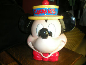 Mickey Mouse Cookie Jar Collectable Excellent Condition