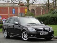 Mercedes Benz C220 CDi Auto 2008MY Sport..6 SERV STAMPS +HEATED LEATHER +PDC