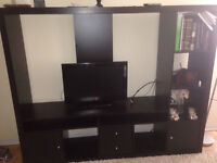 MOVING SALE: BED+CABINET+TV STAND+BUREAU+WARDROBE+TABLE/500$