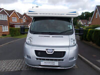 Bailey Approach 740 se used motorhome with fixed rear bed