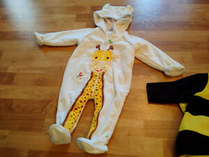 Giraffe costume for small child - barely used
