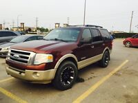 2007 Ford Expedition Fully Loaded - Eddie Bauer