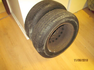 summer tires with rims 185/65/14