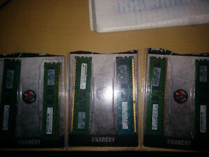12GB DDR3 RAM  6pcs 2gb DIMM for your next ugrade!