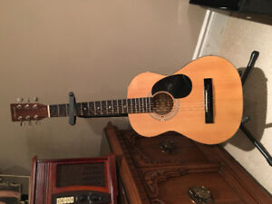 Kids Denver Acustic Guitar with case and stand