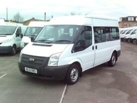 Ford Transit T300 MWB 9 SEAT M/R 125PS DIESEL MANUAL WHITE (2013)