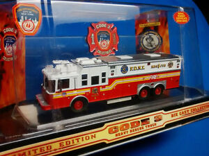 Code 3 FDNY Heavy Rescue 5 Limited Edition Die Cast 1/64