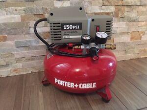 Porter cable 150psi pancake compressor Edmonton Edmonton Area image 1