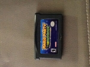 Mario Party Advance game boy advance and sp