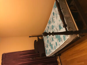 For Sale:  Antique 4 poster single bed